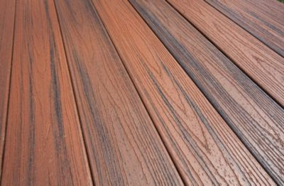 Trex high performance composite decking offers enhanced protection against the elements, and beautiful features