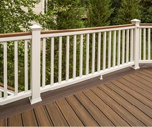 Composite Decking Composite Deck Materials Trex