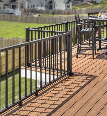 Trex Post Components Outdoor Stairs Railing For Any