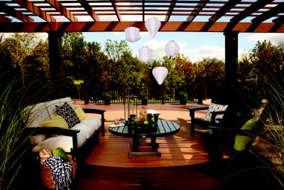 - Trex® Pergola™ Kits Now Come In Colors