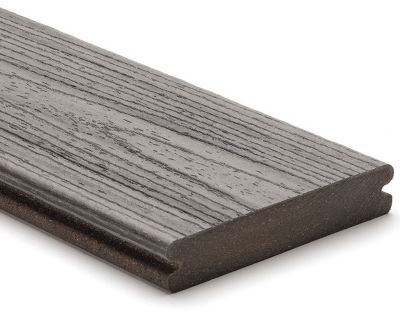 Trex composite decking matches the natural beauty of wood and can withstand the force of mother nature.