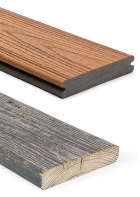 Trex Composite Decking Vs Wood Comparison