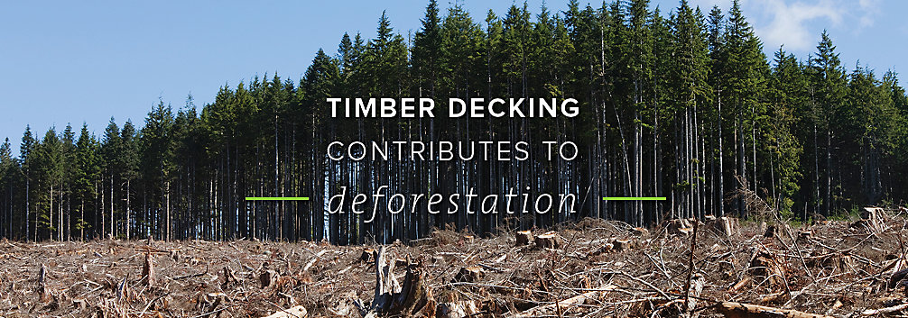 Trex composite decks are eco-friendly and don't contribute to deforestation like their timber counterparts.