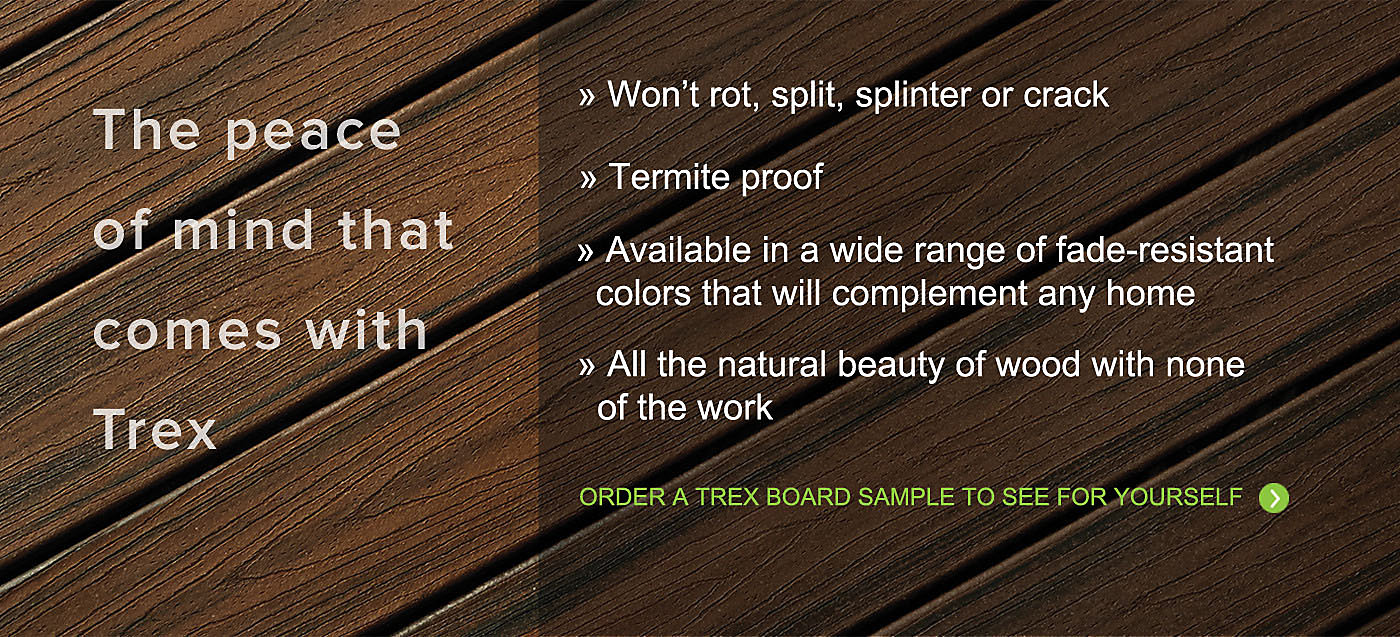 Trex Composite Decks Are The Hle Free Wood Alternative That Will Bring You Long Lasting Beauty