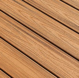 Trex Tropical composite deck boards