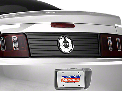 2011 mustang manual trunk release