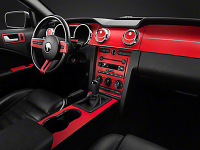2005 2009 Mustang Interior Styling Americanmuscle