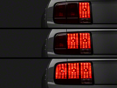 Raxiom Smoked Tail Lights and Sequential Combo (05-09 All)
