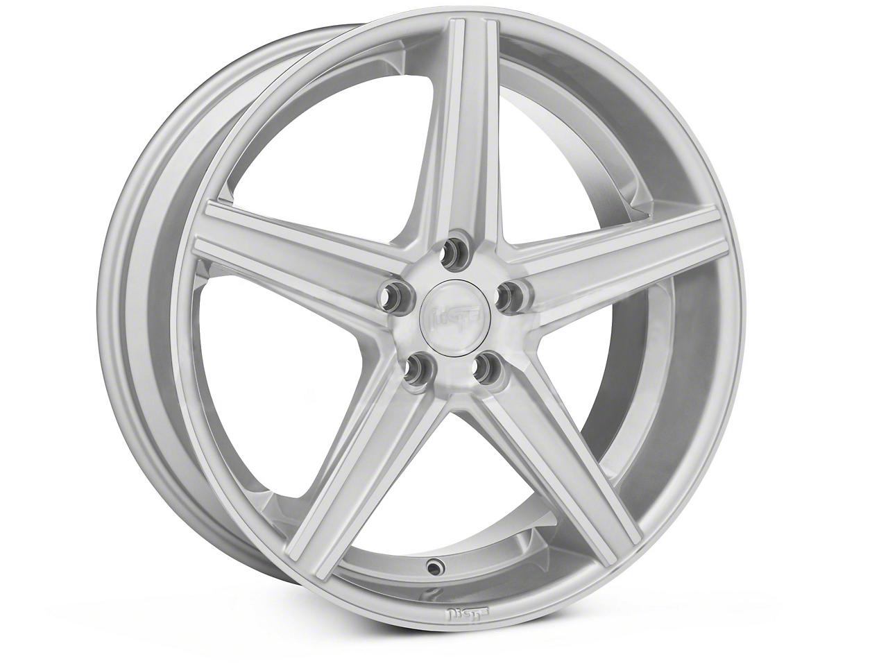 Niche Apex Machined Silver Wheel - 20x8.5 (05-14 All)