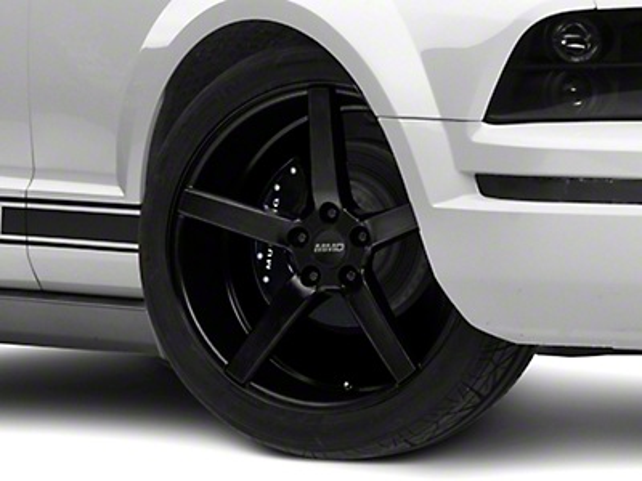 MMD 551C Matte Black Wheel - 20x8.5 (05-14 All)