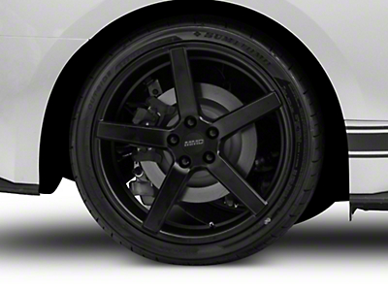MMD 551C Matte Black Wheel - 20x10 (15-17 All)