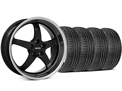 MMD Kage Black Wheel & Sumitomo Tire Kit - 19x8.5 (05-14 GT,V6)