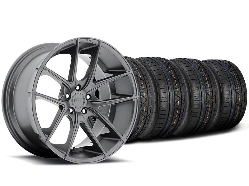 Niche Targa Matte Anthracite Wheel & NITTO INVO Tire Kit - 19x8.5 (05-14 All)