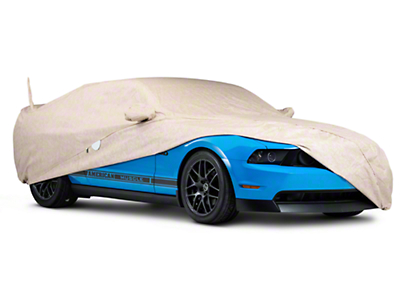 Covercraft Deluxe Custom-Fit Car Cover - 50th Anniversary Logo (10-14 GT, V6; 10-12 GT500)