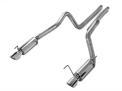 MBRP Race Cat-Back Exhaust - Stainless Steel (05-09 GT; 07-10 GT500)