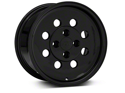 Classic Drag Black Wheel - 15x8 (79-93; Excludes 93 Cobra)