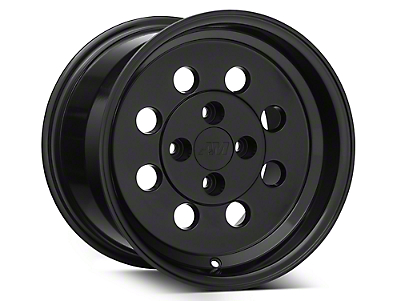 Classic Drag Black Wheel - 15x10 (79-93; Excludes 93 Cobra)