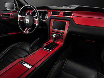 2010 2014 Mustang Interior Trim Americanmuscle