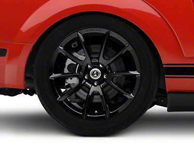 Shelby Super Snake Style Black Wheel - 19x10 (05-14 All)