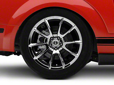 Shelby Super Snake Style Chrome Wheel - 19x10 (05-14 All)
