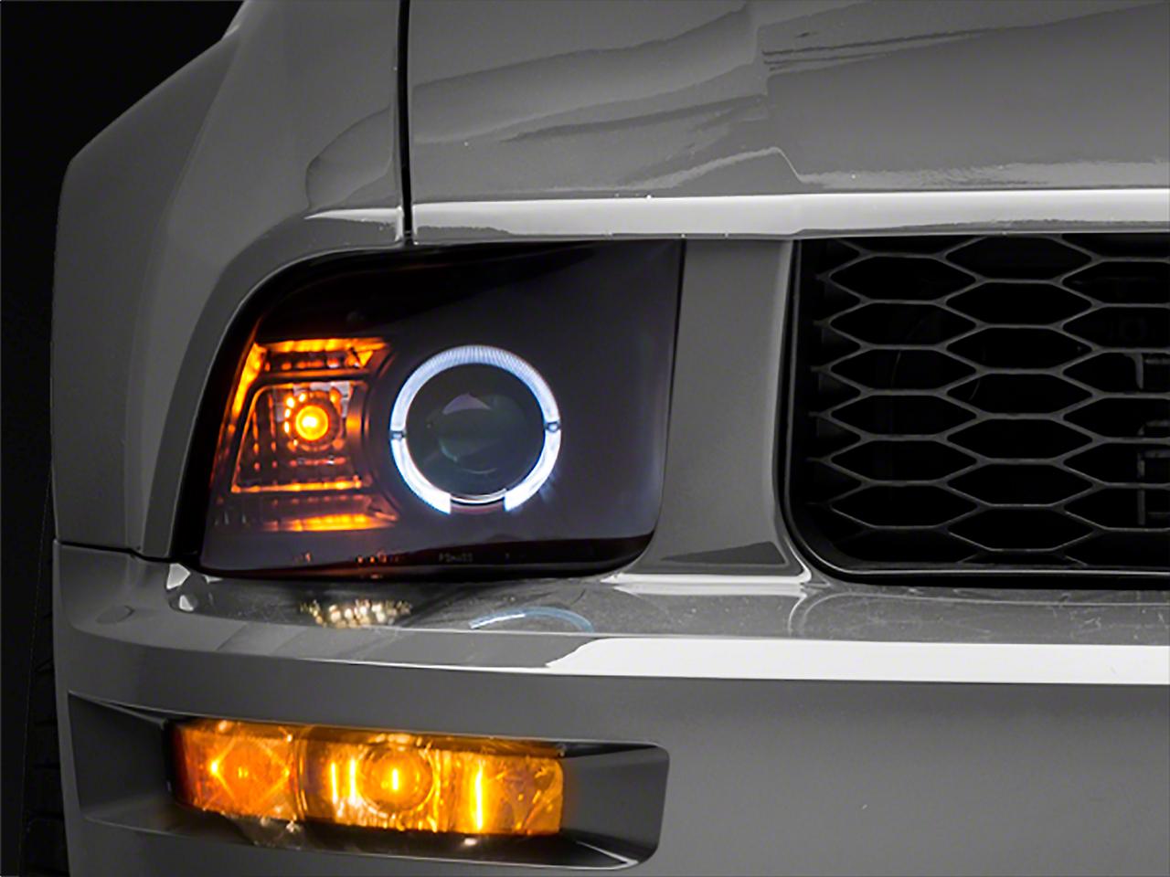 Raxiom 2010 Style Black Headlights (05-09 GT, V6)
