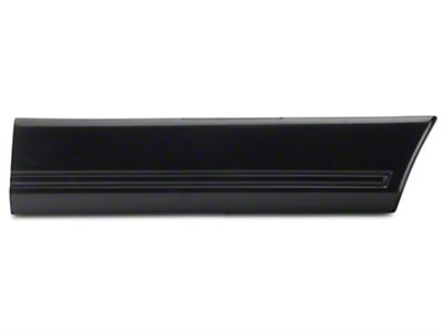 OPR Right Side Quarter Molding - Rear (85-86 All)