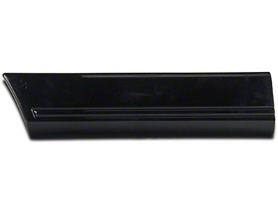 OPR Left Side Quarter Molding - Rear (85-86 All)