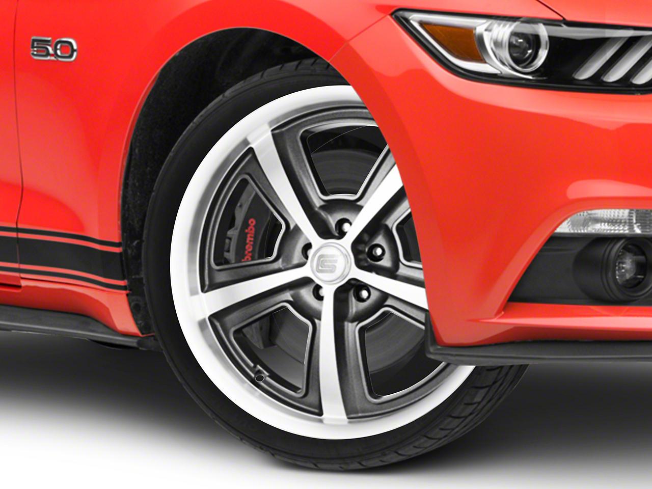 Shelby CS69 Hyper Black Wheel - 20x9 (15-17 All)