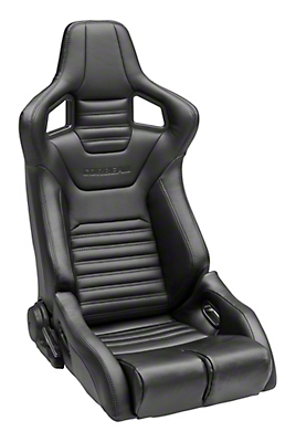 Corbeau Sportline RRB Seat - Black - Pair (79-17 All)