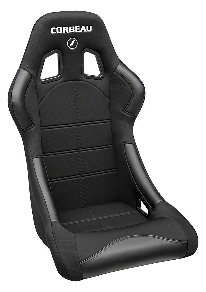 Corbeau Forza Seat - Black (79-17 All)