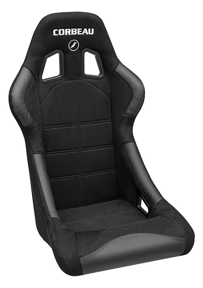 Corbeau Forza Seat - Black Microsuede (79-17 All)