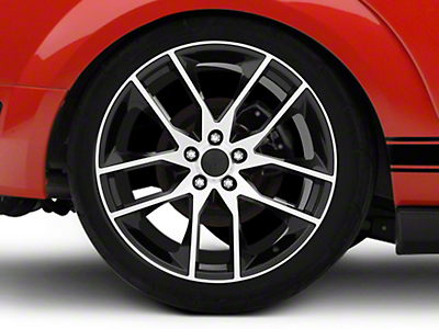 Magnetic Style Black Machined Wheel - 20x10 (05-14 All)