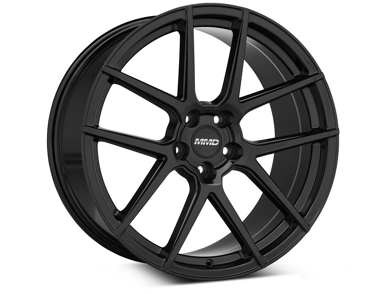 MMD Zeven Black Wheel - 20x10 (05-14 All)