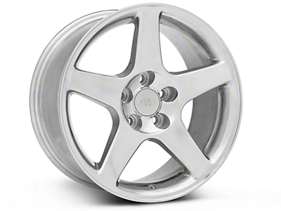 2003 Cobra Style Polished Wheel - 17x9 (94-04 All)