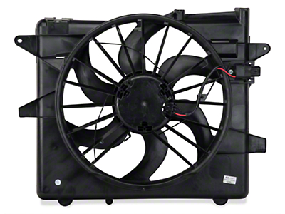 OPR Radiator Fan and Shroud Assembly (05-14 GT, V6; 07-12 GT500)