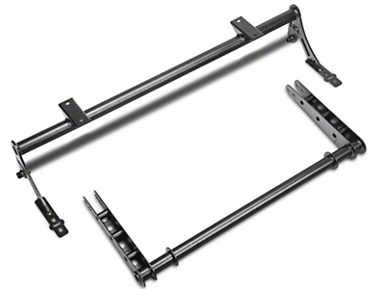BMR Xtreme Rear Sway Bar Kit - Hammertone (05-14 All)