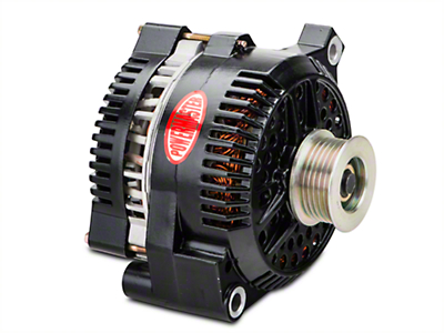 Powermaster Alternator - 200 Amp Black (94-95 GT; 94-00 V6)