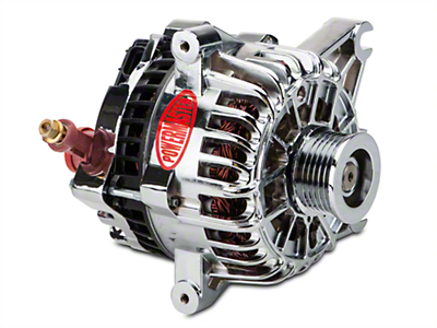 Powermaster Alternator - 110 Amp Chrome (99-04 GT)
