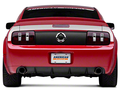 Silver Rear Surround Decal - Upper Only (05-09 All)