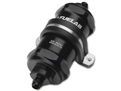 Fuelab In-Line Fuel Filter - 10 micron paper / 6AN (79-17 All)