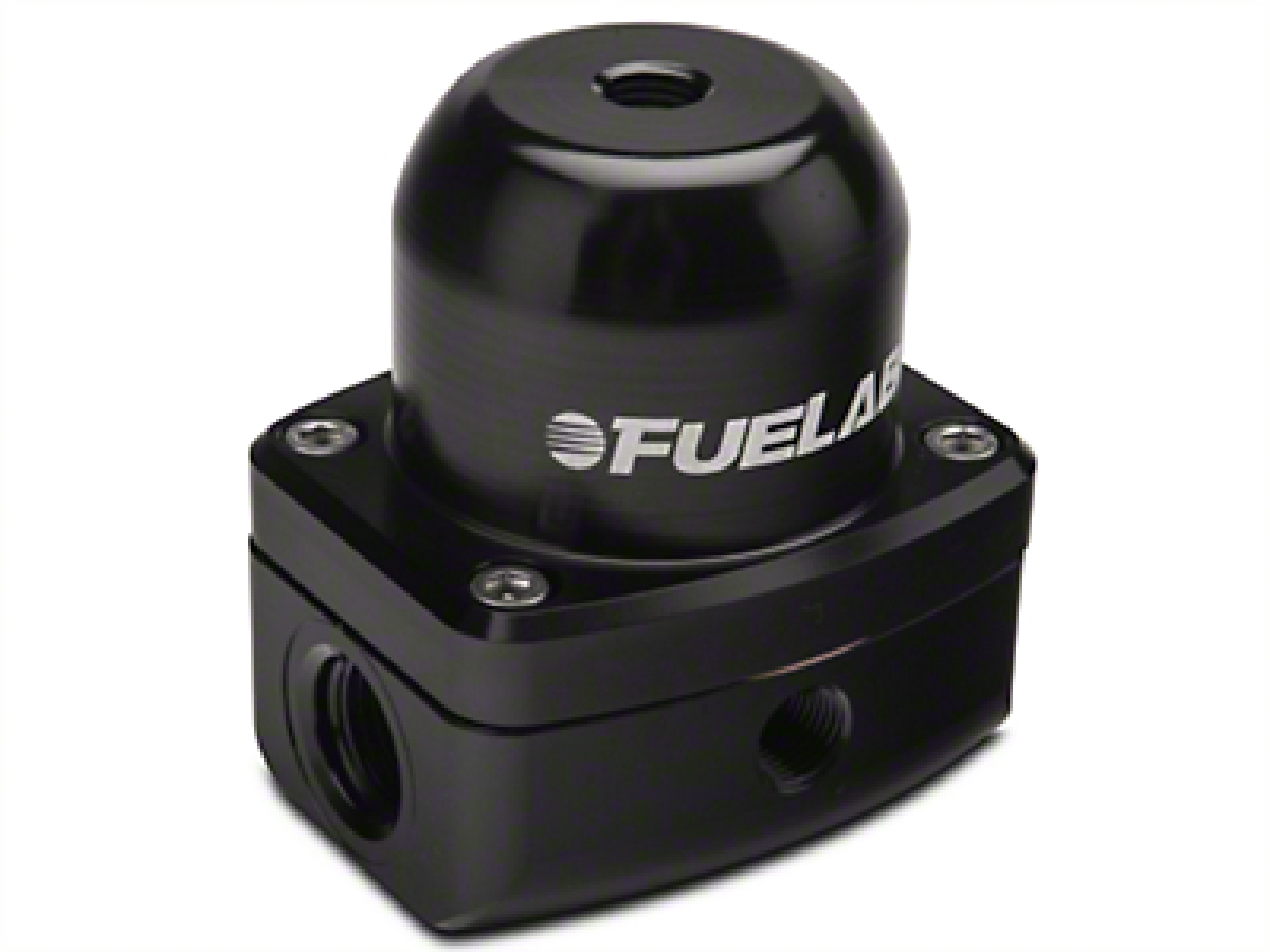 Fuelab 525 Series In-Line Adjustable Fuel Pressure Regulator - 6AN (86-14 All)