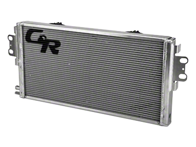 C&R Racing Heavy Duty Dual Pass Heat Exchanger w/ Dual Fans (07-14 GT500)