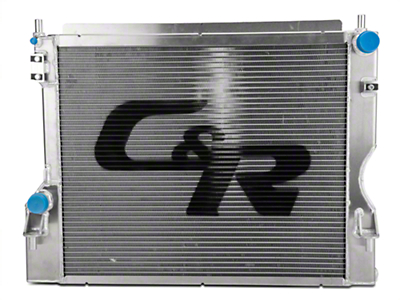 C&R Racing High Capacity Performance Radiator (11-14 GT, BOSS)