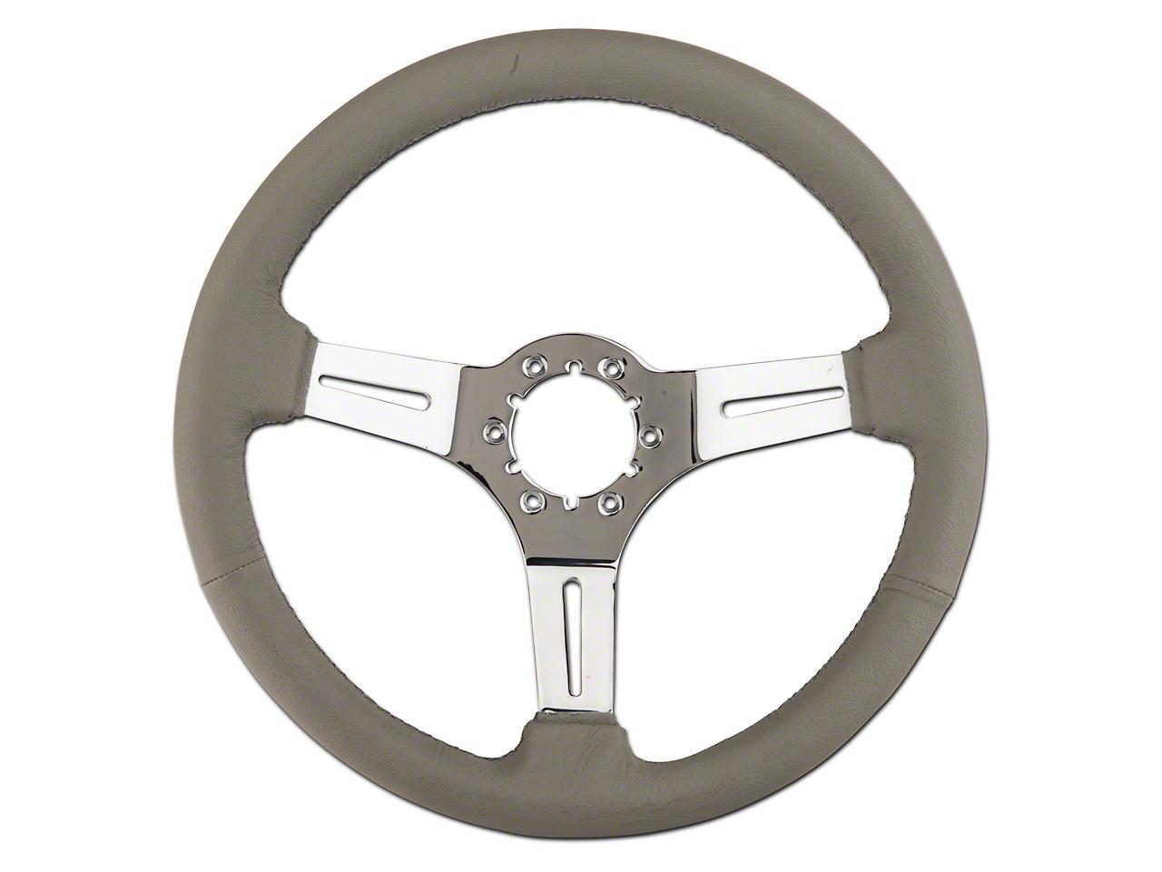 MethodWorks Gray Leather Steering Wheel (79-04 All)