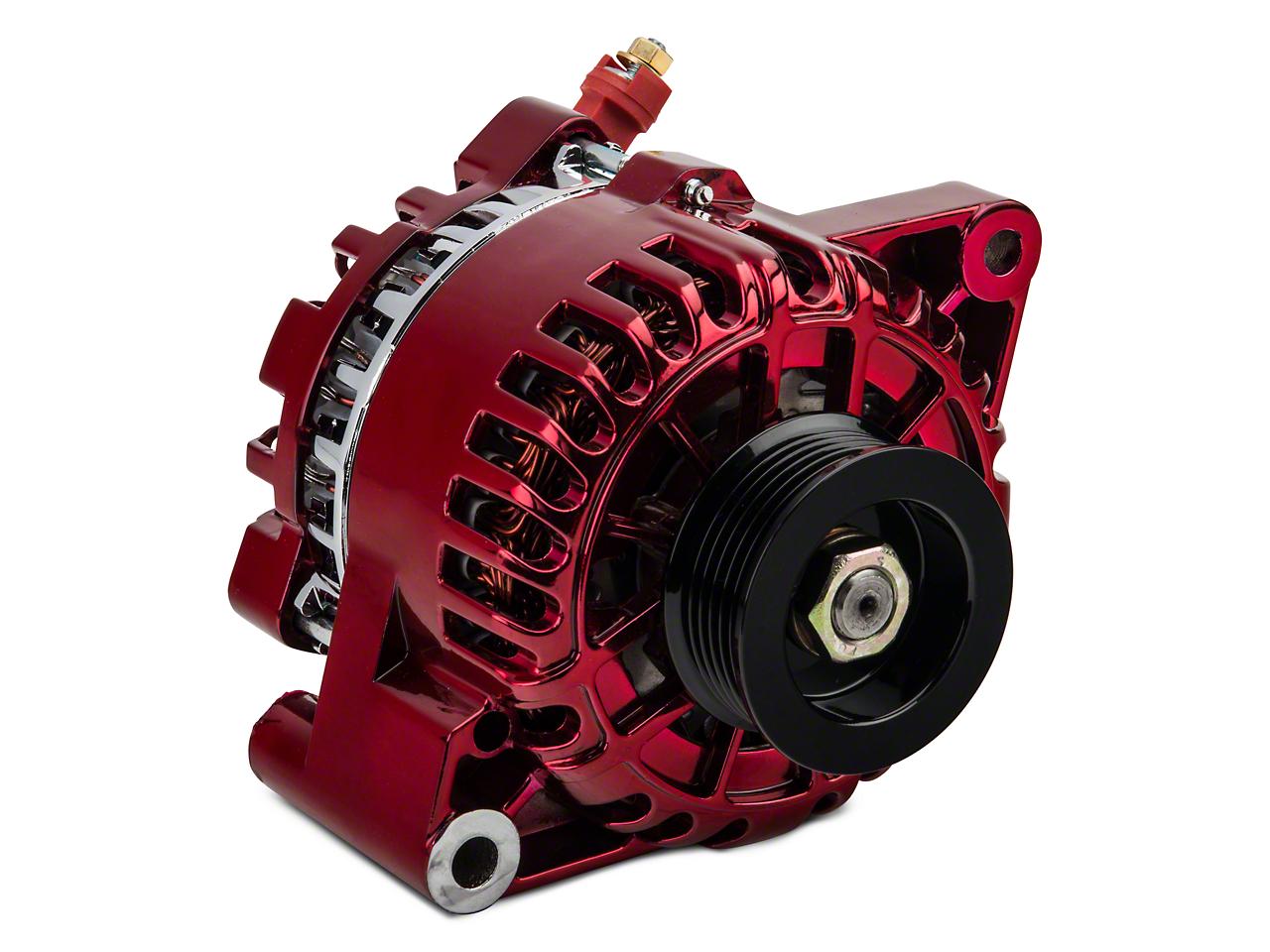 PA Performance Alternator - 130 Amp - Red (01-04 V6)