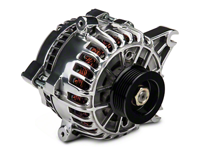 PA Performance Alternator - 130 Amp - Polished (05-08 GT)