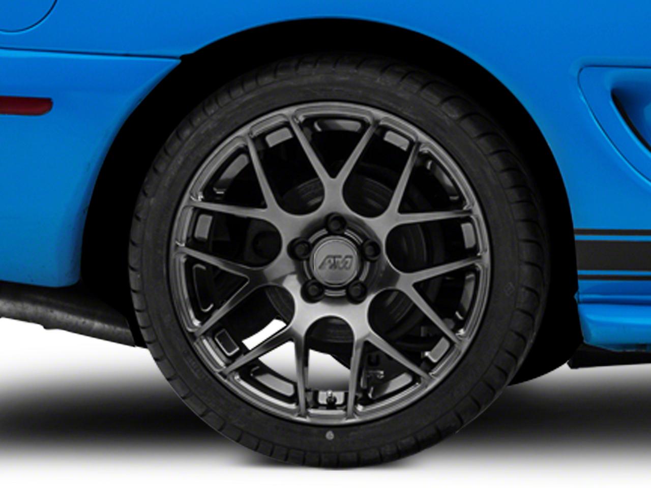 AMR Dark Stainless Wheel - 18x10 (94-04 All)