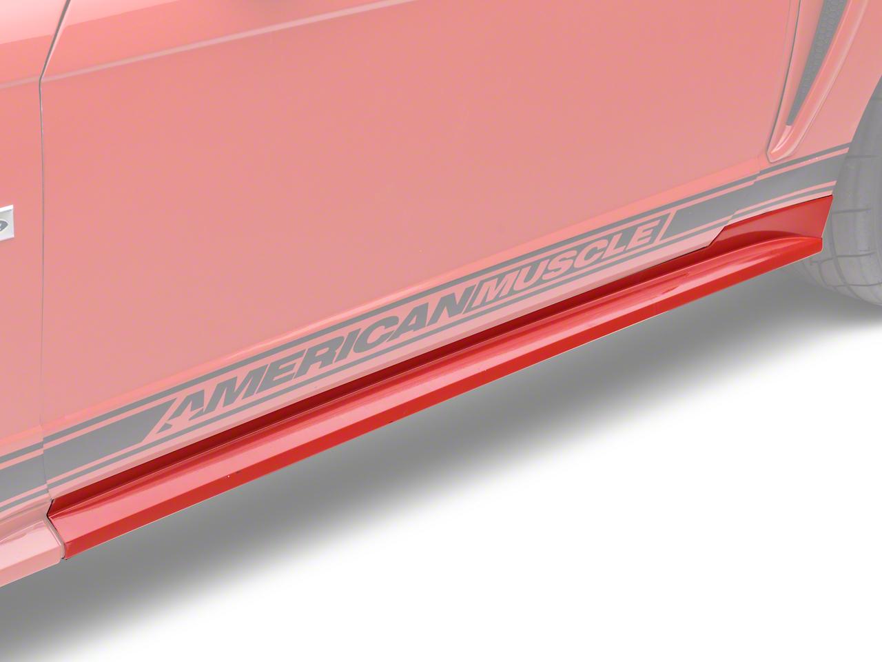 Ford Rocker Panel Molding - Left Side - Unpainted (99-04 GT, V6; 99-01 Cobra)