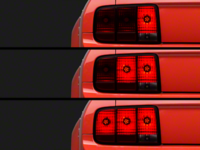 Axial LED Sequential Tail Light Kit - Cut-and-Splice (05-09 All)