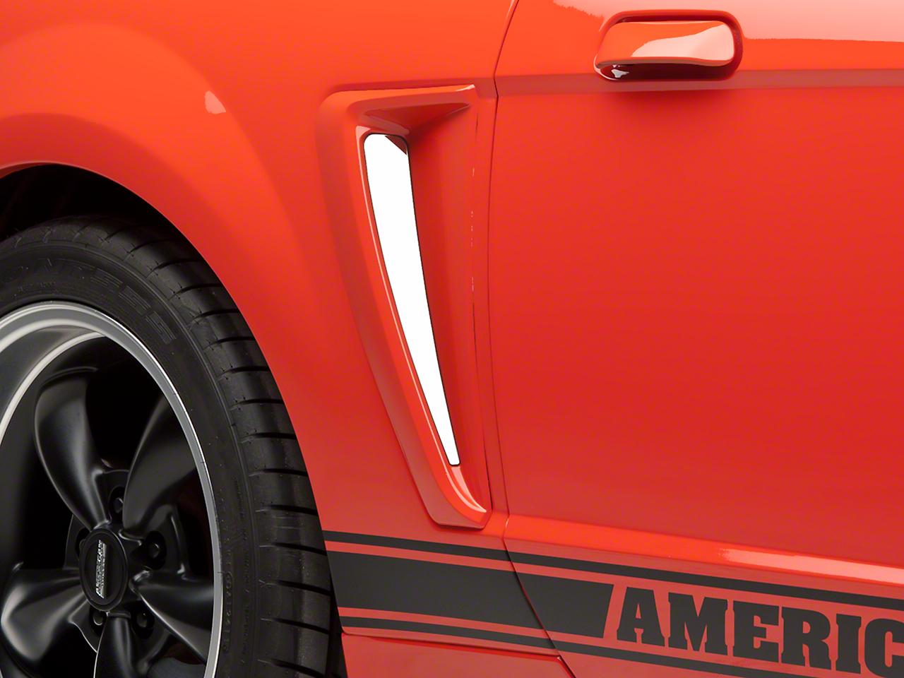 Modern Billet Stainless Steel Side Scoop Insert Set (99-00 GT, 99-04 V6)